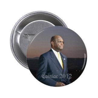 Botón de Cainiac 2012 - redondo Pin