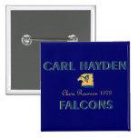 Botón de Carl Hayden 79 Pin