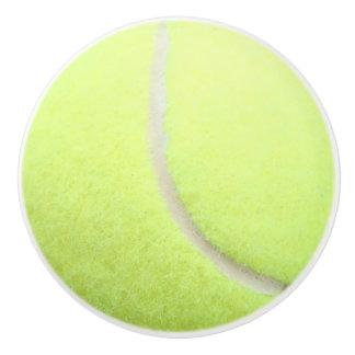 Botón de cerámica de la pelota de tenis pomo de cerámica