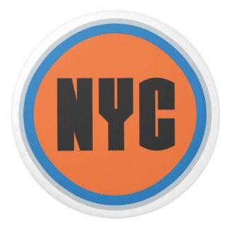 Botón de cerámica de NYC Pomo De Cerámica