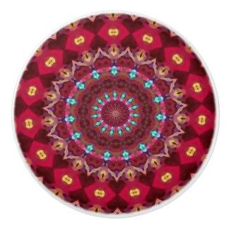 Botón de cerámica del edredón de Boho Pomo De Cerámica