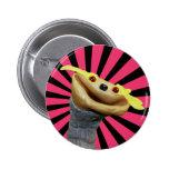 Botón de Chester (rayas) Pins