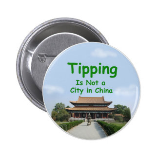 Botón de China Pin Redondo De 2 Pulgadas
