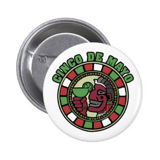 Botón de Cinco de Mayo Pins