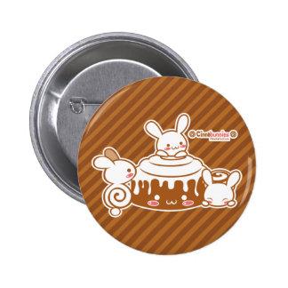 Botón de Cinnabunnies Pin Redondo De 2 Pulgadas