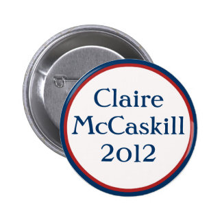 Botón de Claire McCaskill del vintage