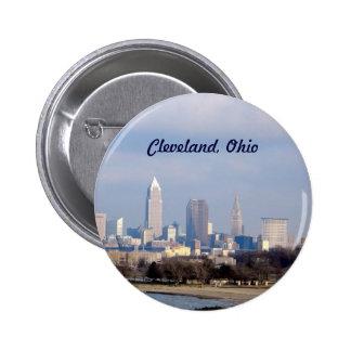 Botón de Cleveland (Edgewater) Pins