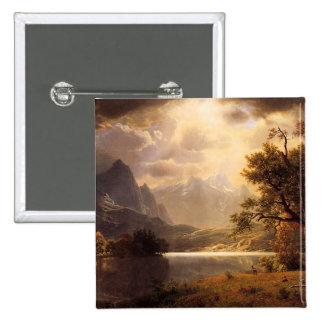Botón de Colorado del parque de Bierstadt Estes Pin