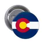 Botón de Colorado Pins