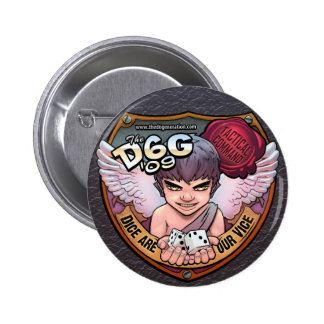 Botón de comando táctico de D6G 2009 Pin Redondo De 2 Pulgadas