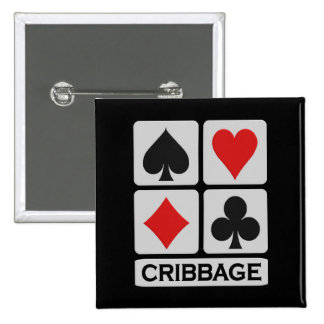 Botón de Cribbage Pin