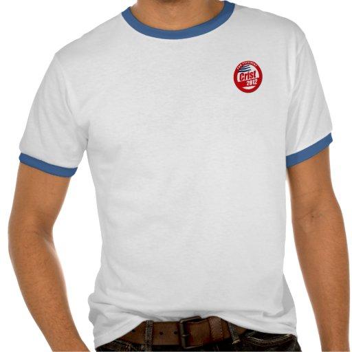 Botón de Crist 2012 Camiseta
