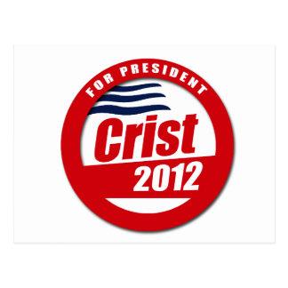 Botón de Crist 2012 Postales