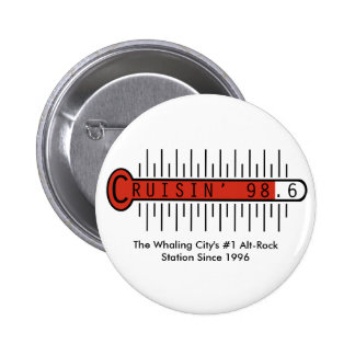 Botón de Cruisin 98,6