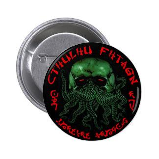 Botón de Cthulhu Fhtagn Pin Redondo De 2 Pulgadas