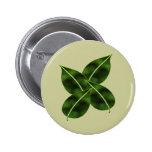 Botón de cuatro hojas pin