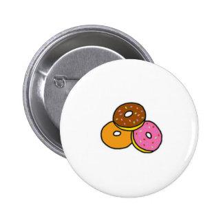 Botón de Cutie de los anillos de espuma del dibujo Pin Redondo De 2 Pulgadas