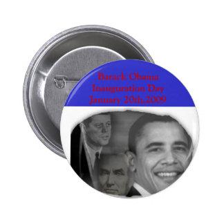 Botón de Day_ de la inauguración de OBAMA Pins