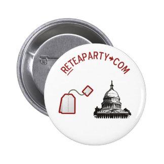 Botón de DC de la bolsita de té Pins