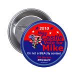Botón de Delaware del CASTILLO Pins