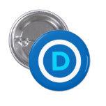 Botón de Demócrata Pin