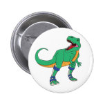 Botón de Dino AFO Pin Redondo De 2 Pulgadas