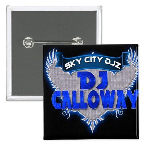 Botón de DJ Calloway Pin