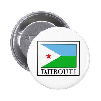 Botón de Djibouti Pin Redondo De 2 Pulgadas