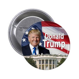 Botón de Donald Trump Pin Redondo De 2 Pulgadas