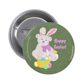 Botón de Easterbear Pin Redondo De 2 Pulgadas