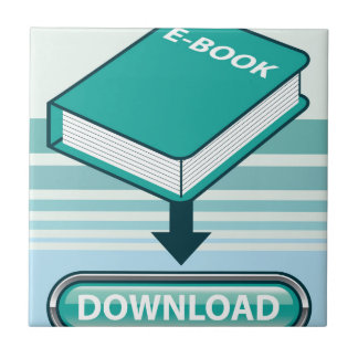 Botón de Ebook de la transferencia directa con el Azulejo Cuadrado Pequeño
