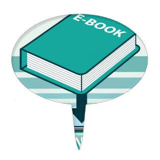 Botón de Ebook de la transferencia directa con el Figura De Tarta
