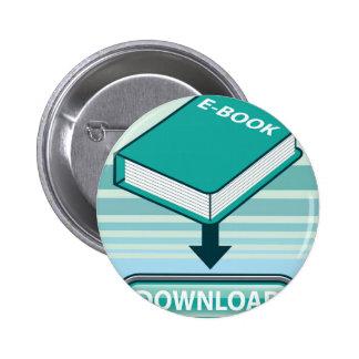 Botón de Ebook de la transferencia directa con el Pin Redondo De 2 Pulgadas
