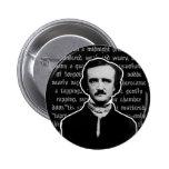 Botón de Edgar Allan Poe Pin