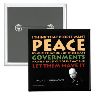 Botón de Eisenhower Pins