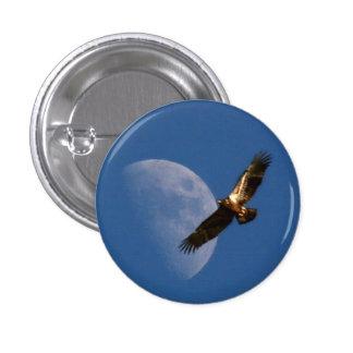 Botón de elevación de Eagle Pin Redondo De 1 Pulgada