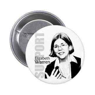 Botón de Elizabeth Warren Pin Redondo De 2 Pulgadas