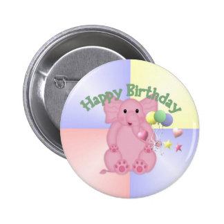 Botón de Ellie del feliz cumpleaños