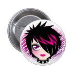 Botón de Emo Cutie Pins