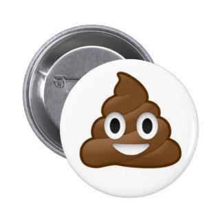 Botón de Emoji del impulso Pin Redondo De 2 Pulgadas