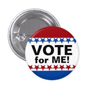 Botón de encargo de la campaña del voto pin redondo de 1 pulgada