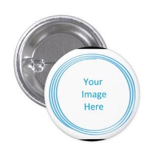 Botón de encargo del círculo de Blissed del alma,  Pins