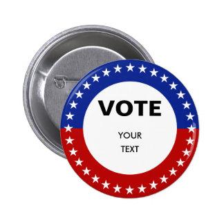 Botón de encargo del voto del texto