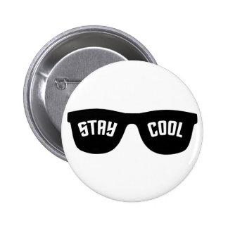 Botón de encargo FRESCO de la ESTANCIA Pin Redondo De 2 Pulgadas