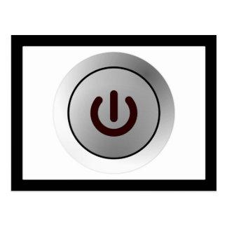 Botón de encendido - blanco - encendido postal