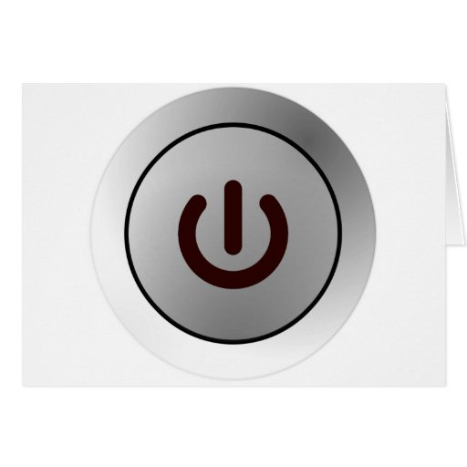 Botón de encendido - blanco - encendido tarjeton