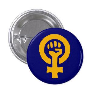 Botón de encendido de la mujer pins