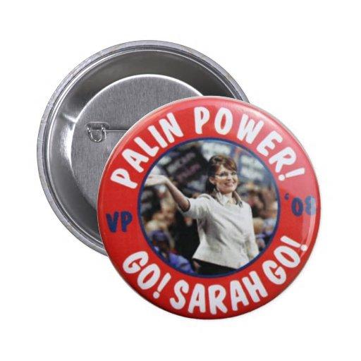 Botón de encendido de Palin