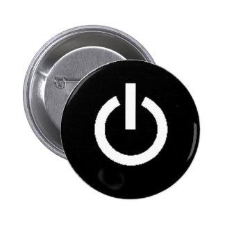 Botón de encendido pins