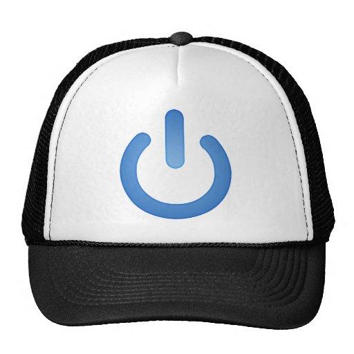 Botón de encendido simple gorra